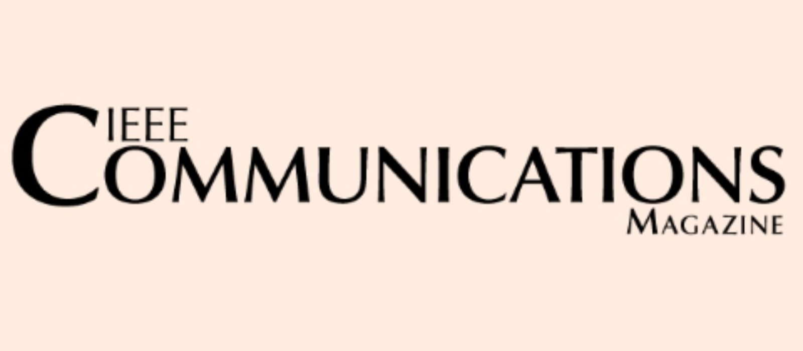 I have got a new IEEE Communication Magazine article to appear in January 2017