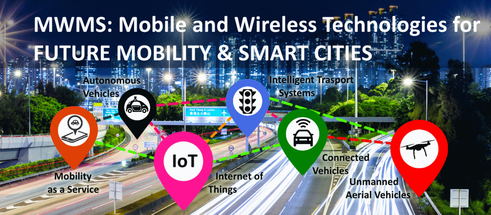 CFP: MWMS – Mobile and Wireless Technologies for Future Mobility and Smart Cities