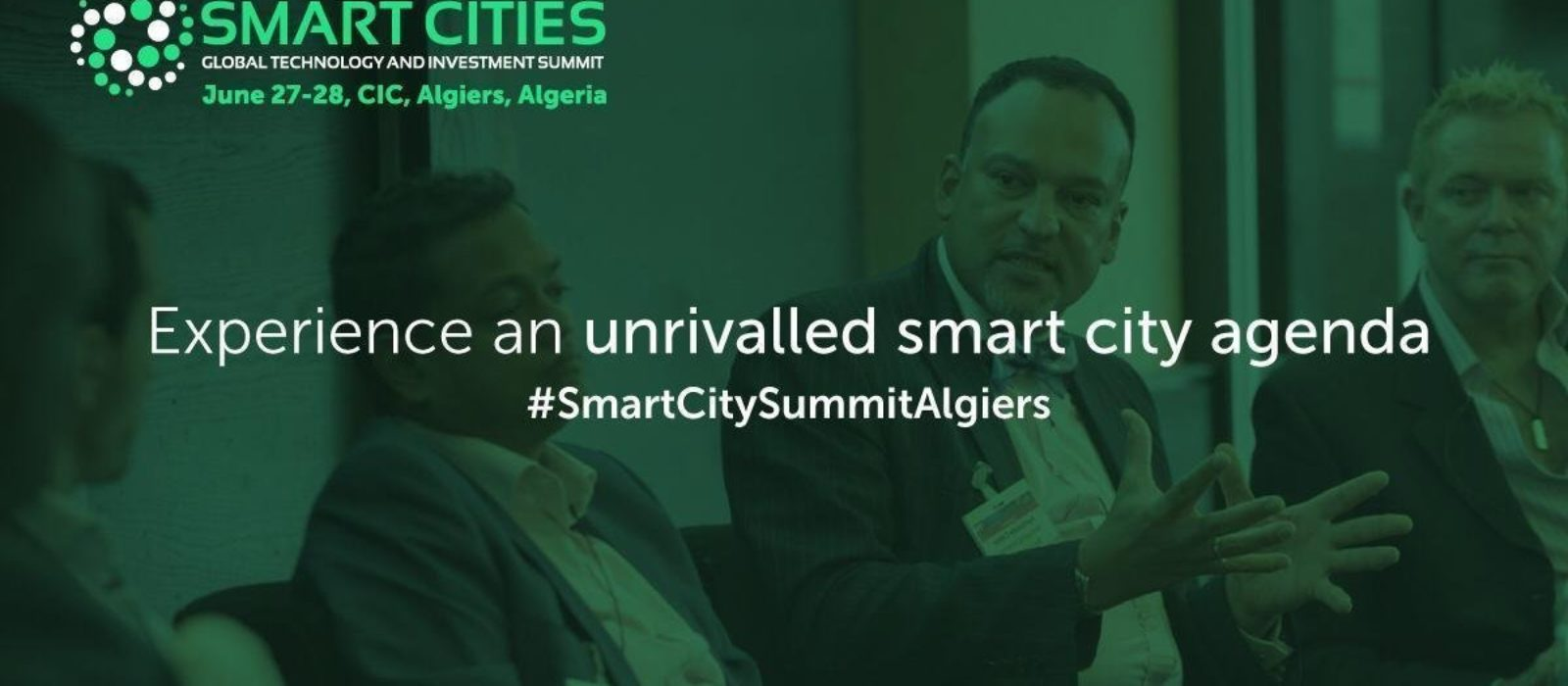 Heading to Algiers Algeria to attend and speak at the first Smart City summit in Algeria