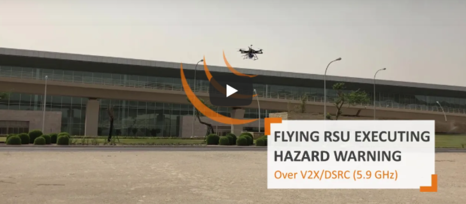 Check out this video about our Flying RSU