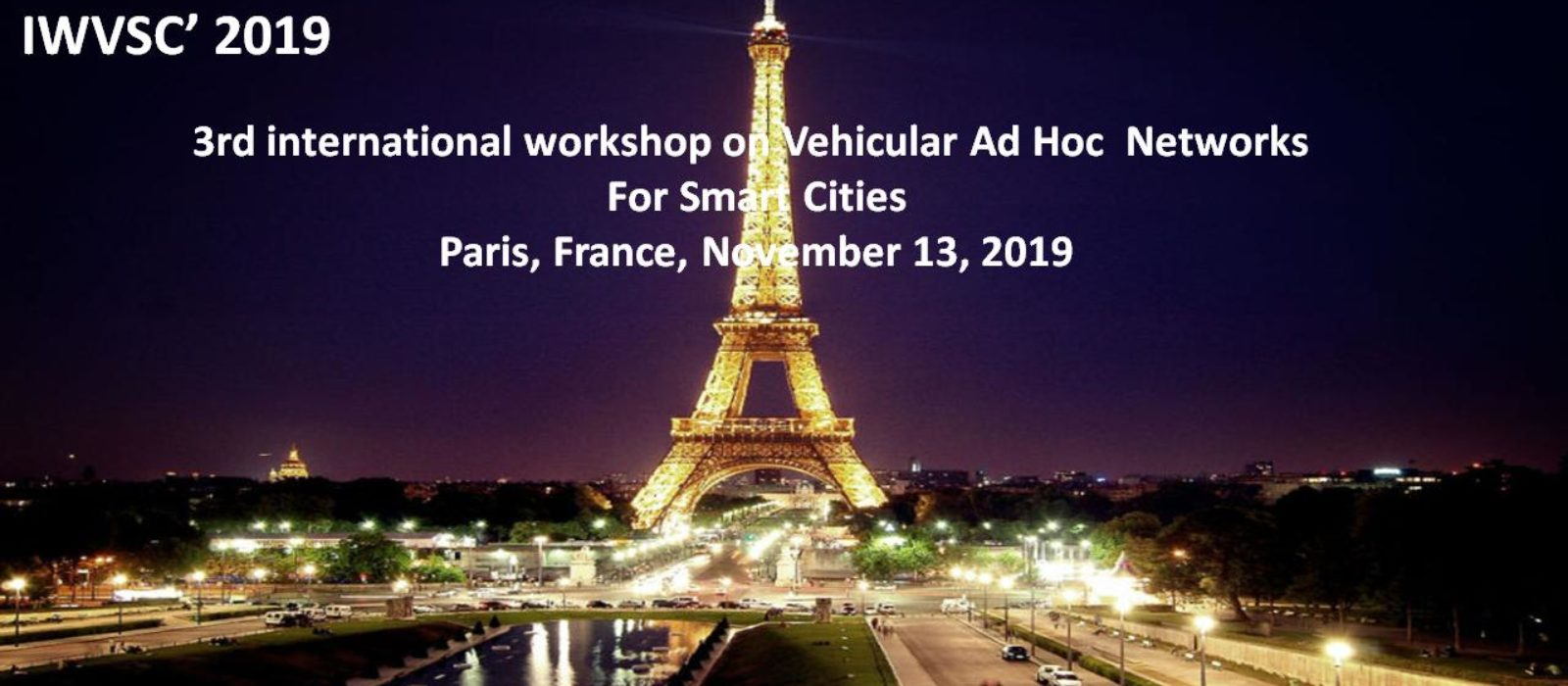 Delivering a keynote at IWVSC'2019 in Paris, France