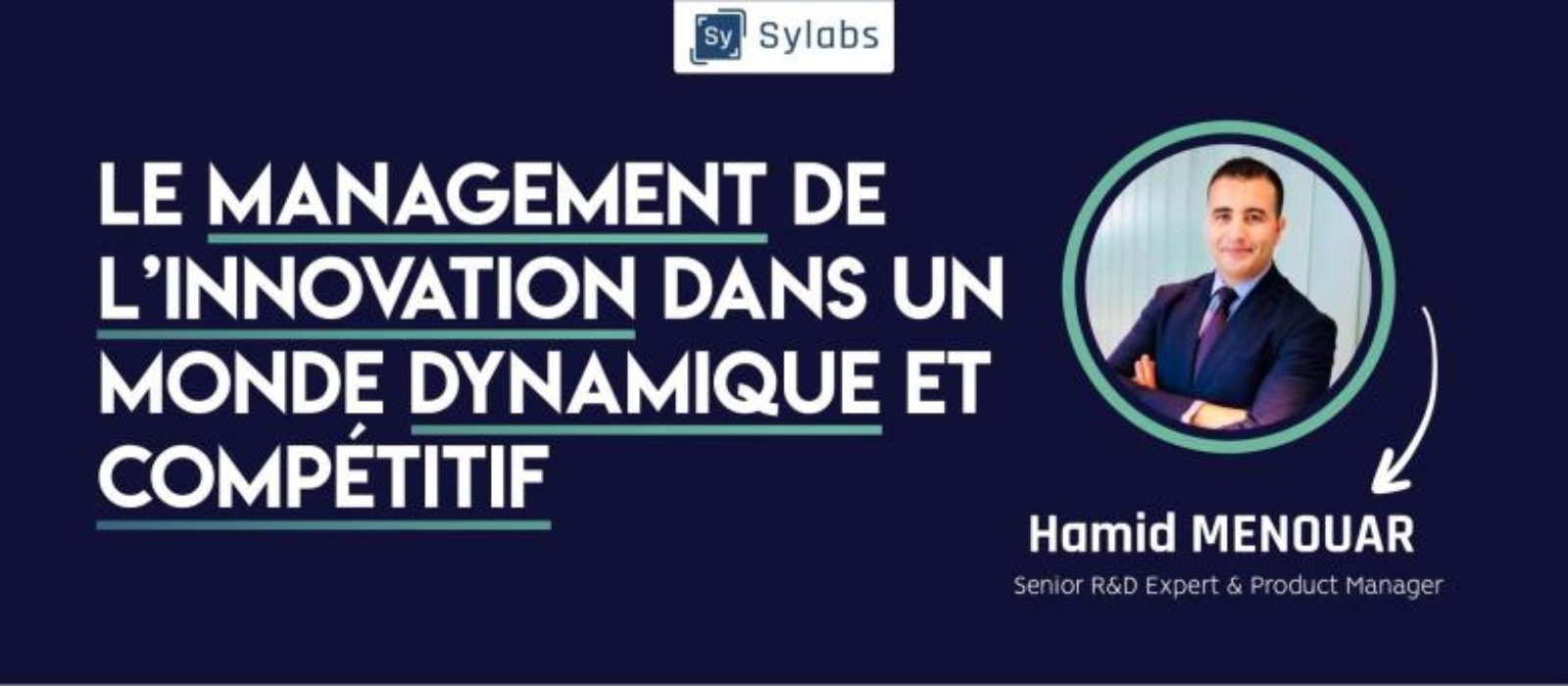 Presenting Innovation Management at SYLABS, Algiers, Algeria